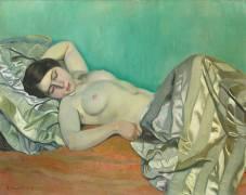 Torse of a reclining woman (Félix Vallotton) - Muzeo.com