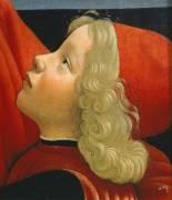 Detail of Old Man and His Grandson (Domenico Ghirlandaio) - Muzeo.com