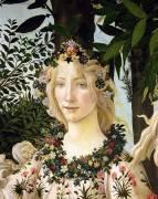 Detail of Spring (Sandro Botticelli) - Muzeo.com