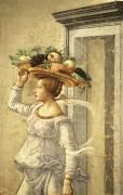 Detail of the Birth of Saint John the Baptist (Domenico Ghirlandaio) - Muzeo.com