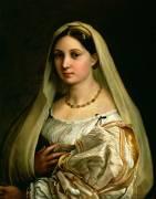 La Donna Velata (Raphaël) - Muzeo.com