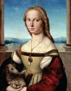 Portrait of a Lady with a Unicorn (Raphaël) - Muzeo.com