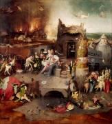Triptyque de la Tentation (Jérôme Bosch) - Muzeo.com