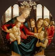 Vierge à l'Enfant (Domenico Ghirlandaio) - Muzeo.com