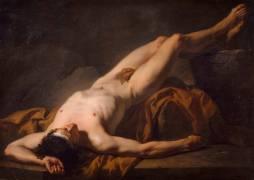Académie d'homme dite Hector (Jacques Louis David) - Muzeo.com