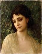 Adélaïde songeuse (Hébert Ernest Antoine Auguste) - Muzeo.com