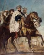 Ali Ben Ahmed, dernier Khalifa de Constantine (Théodore Chasseriau) - Muzeo.com