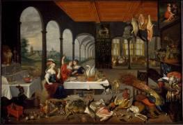 Allégorie du goût (Brueghel de Velours (dit),...) - Muzeo.com