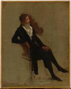 Antoine-Denis Chaudet (1763-1810), sculpteur (Boilly Louis Léopold) - Muzeo.com