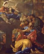 Apparition de la Vierge à saint Jacques le Majeur (Poussin Nicolas) - Muzeo.com