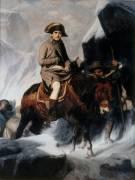 Bonaparte franchissant les Alpes (Paul Delaroche) - Muzeo.com