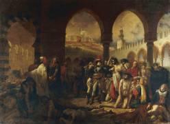 Bonaparte visitant les pestiférés de Jaffa (Gros Antoine-Jean, Baron) - Muzeo.com