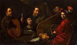 Concert de musiciens et de chanteurs (Pietro Paolini) - Muzeo.com