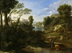 Diogène jetant son écuelle (Nicolas Poussin) - Muzeo.com