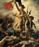 Détail de La Liberté guidant le peuple (Delacroix Eugène) - Muzeo.com