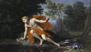 Echo et Narcisse (Houasse, René Antoine) - Muzeo.com