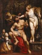 Hercule et Omphale (Peter Paul Rubens) - Muzeo.com