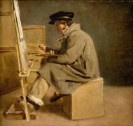 Jeune peintre à son chevalet (Théodore Géricault) - Muzeo.com