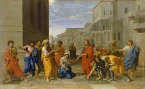 La Femme adultère (Nicolas Poussin) - Muzeo.com