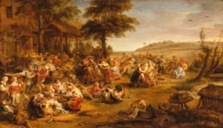 La kermesse ou Noce de village (Peter Paul Rubens) - Muzeo.com