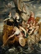 La Majorité de Louis XIII, le 20 octobre 1614 (Peter Paul Rubens) - Muzeo.com