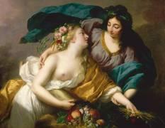 La Paix ramenant l'Abondance (Vigée-Le Brun Elisabeth...) - Muzeo.com