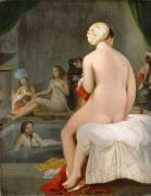 La petite baigneuse - Intérieur de harem (Jean-Auguste-Dominique Ingres) - Muzeo.com