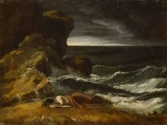 La Tempête ou L'Epave (Géricault Théodore) - Muzeo.com