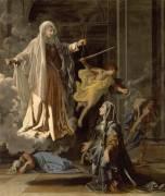 La vision de sainte Françoise Romaine (Nicolas Poussin) - Muzeo.com