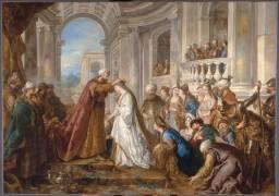Le couronnement d'Esther (Troy Jean-François de) - Muzeo.com