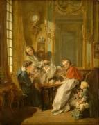 Le déjeuner (Boucher François) - Muzeo.com