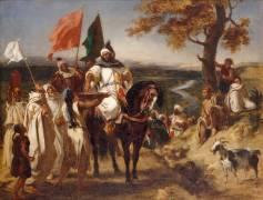 Le Kaïd, chef marocain (Eugène Delacroix) - Muzeo.com