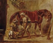 Le Maréchal-Ferrant (Eugène Delacroix) - Muzeo.com