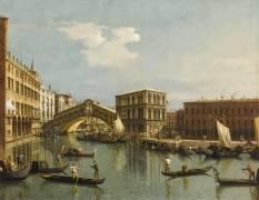 Le Pont du Rialto (Canaletto Antonio) - Muzeo.com