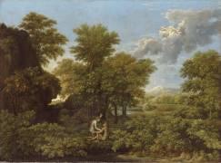Le Printemps ou le Paradis terrestre (Poussin Nicolas) - Muzeo.com