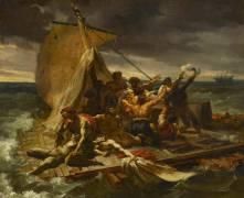 Le radeau de la Méduse, première esquisse (Théodore Géricault) - Muzeo.com