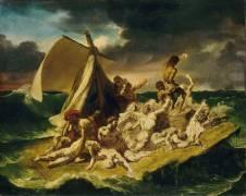 Le radeau de la Méduse, esquisse (Théodore Géricault) - Muzeo.com