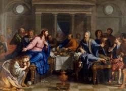 Le Repas chez Simon le Pharisien (Champaigne Philippe de) - Muzeo.com