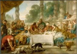 Le repas d'Esther et d'Assuérus (Troy Jean-François de) - Muzeo.com