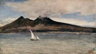 Le Vésuve (Jean-Baptiste Camille Corot) - Muzeo.com