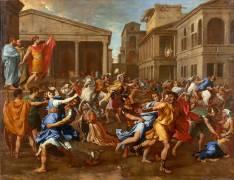 L'enlèvement des Sabines (Poussin Nicolas) - Muzeo.com