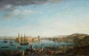 L'entrée du port de Marseille (Vernet Joseph) - Muzeo.com