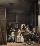 Las Meninas or The Family of Philip IV (Diego Velazquez) - Muzeo.com