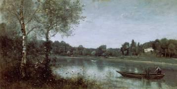 L'Etang de Ville d'Avray (Jean-Baptiste Camille Corot) - Muzeo.com