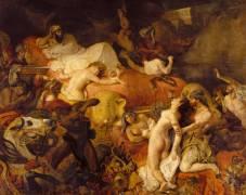 Mort de Sardanapale (Eugène Delacroix) - Muzeo.com