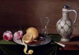 Nature morte au pichet (Van Es Jacob) - Muzeo.com