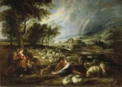 Paysage à l'arc-en-ciel (Peter Paul Rubens) - Muzeo.com