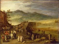 Pont de Talavera (Brueghel de Velours (dit),...) - Muzeo.com