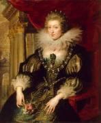 Portrait d'Anne d'Autriche (1601-1666) (Peter Paul Rubens) - Muzeo.com