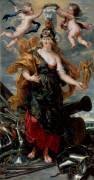 Portrait de Marie de Médicis en Bellone (Peter Paul Rubens) - Muzeo.com